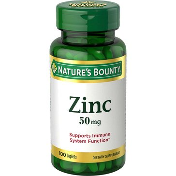 Nature's Bounty Zinc 50MG 100ct