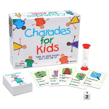 Pressman Charades for Kids Game