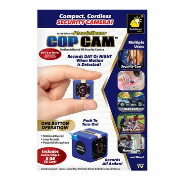 As Seen On TV Cop Cam Security Camera