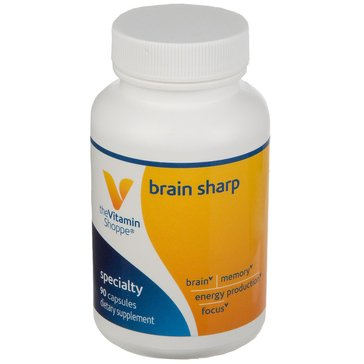 The Vitamin Shoppe Brain Sharp, 90 Capsules