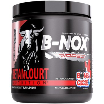Betancourt Nutrition B-NOX Ripped Thermogenic Pre-Workout-Bombsicle 35 Servings