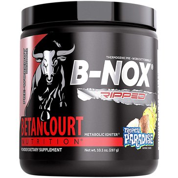 Betancourt Nutrition B-NOX Ripped Thermogenic Pre-Workout- Tropical Paradise 35 Servings
