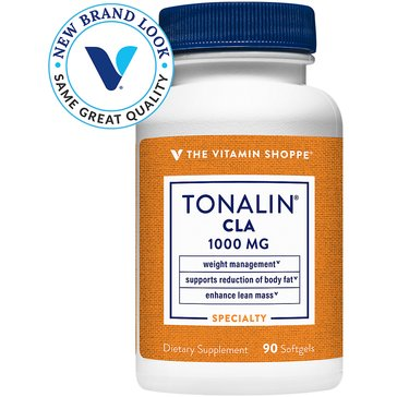 The Vitamin Shoppe Tonalin CLA 1000 MG 90 Softgels