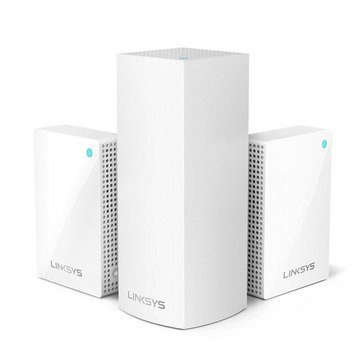 Linksys Velop Tri-Band Mesh WiFi System (1 Node+2 Plug-in) 3-pack