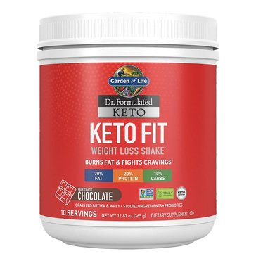 Dr. Formulated Keto Fit Chocolate 10 servings