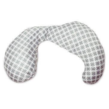 Boppy Total Body Pillow with Ring Toss Slipcover