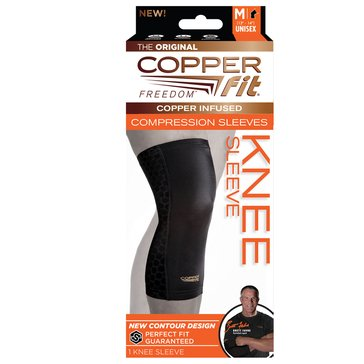 As Seen On TV Copper Fit Freedom Knee Sleeve, M