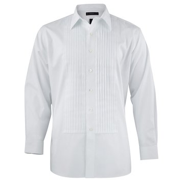 Brooks Brothers Men's No-Iron White Long Sleeve Formal Shirt
