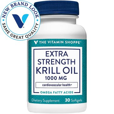 The Vitamin Shoppe Extra Strength Krill Oil 1,000 MG 30 Softgels