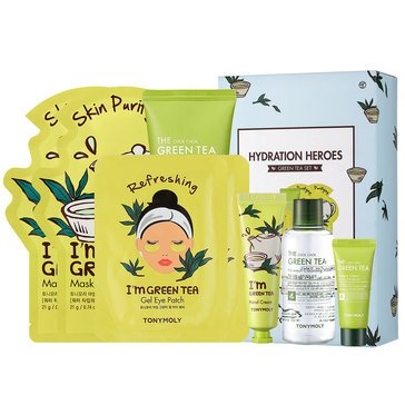 TONYMOLY Hydration Heroes - Green Tea Skincare Set