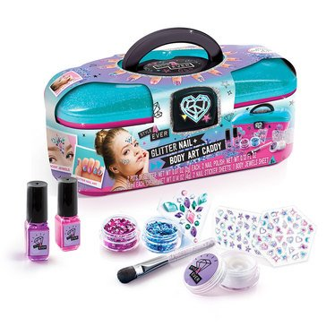 Style 4 Ever Glitter Nail and Body Art Caddy