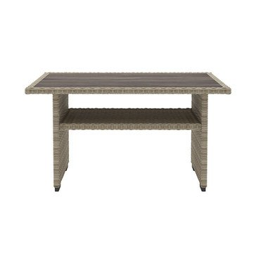 Signature Design by Ashley Silent Brook Multi-Use Table, Beige