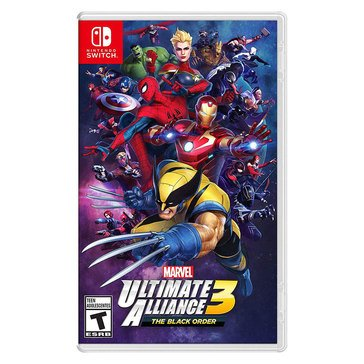 Switch Marvel Ultimate Alliance 3, The Black Order