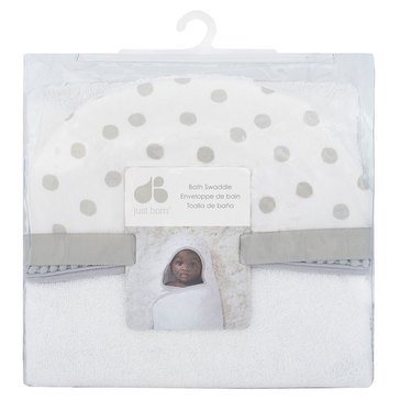 Just Born Baby Bath Swaddle