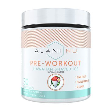 Alani Nu Preworkout Hawaiian Shaved Ice 30 Servings