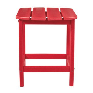 Signature Design by Ashley Rectangular End Table Red Sundown Treasure