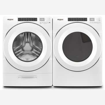 Whirlpool Front Load Washer/Gas Dryer Bundle (WFWG5620HW)