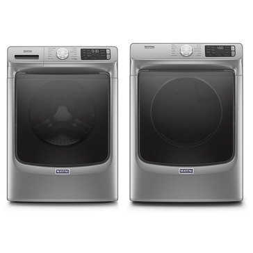 Maytag Front Load Washer/Electric Dryer Bundle (MHWE6630HC)