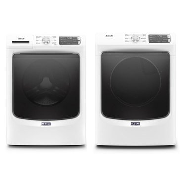 Maytag Front Load Washer/Electric Dryer Bundle (MHWE6630HW)