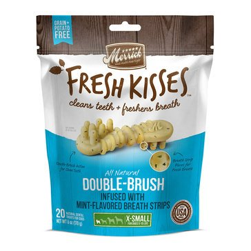 Merrick Fresh Kisses Mint 20-Count Extra Small Breath Strips