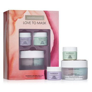 bareMinerals Love To Mask: Be Bright & Be Firm ClayMates Mask Set
