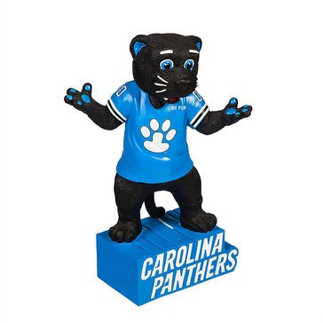 Evergreen Carolina Panthers Mascot Statue