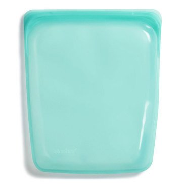 Stasher Reusable Silicone Half Gallon Bag - Aqua