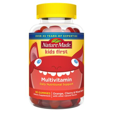 Nature Made Kids First Multi Gummies 90ct