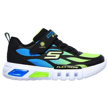 Skechers Kids Toddler Boys' Flex Glow Lites Sneaker