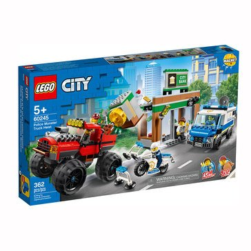 LEGO City Police Monster Truck Heist (60245)