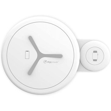 2 in 1 Wireless Charger w/Wall adapter