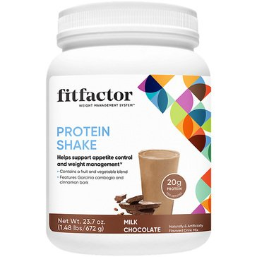 Fitfactor Protein Shake - Milk Chocolate 1.48lbs 16 Servings