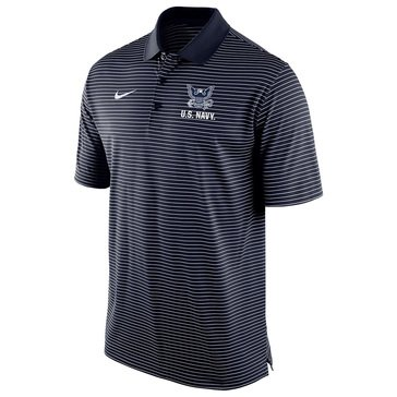 Nike Men's USN Stadium Striped Polo