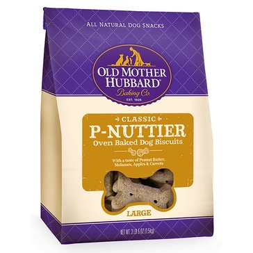 Old Mother Hubbard Large 3 lbs. P-Nuttier Baked Dog Treats