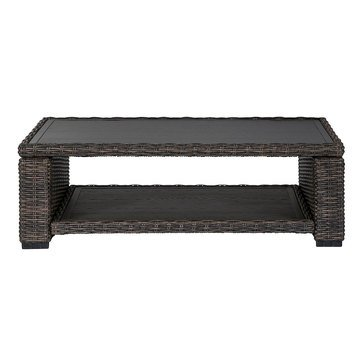 Signature Design by Ashley Grasson Lane Coffee Table, Brown