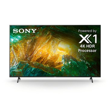 Sony XBR85X800H 85 in LED 4K/UHD, X-1, Triluminious, High-Brightness, HDR10/HLG Dolby Video, Android