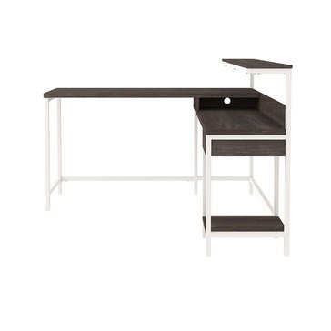 Signature Design by Ashley Dorrinson L-Desk with Storage