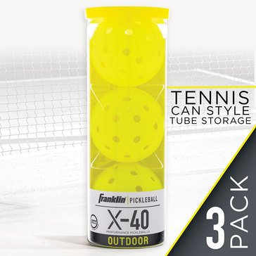 Franklin Pickleballs X-40 Outdoor 3PK