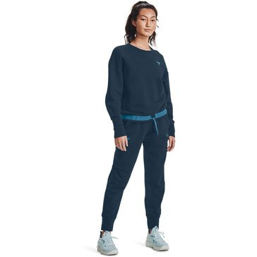 Under Armour Women's Project Rock Charged Cotton� Fleece Top