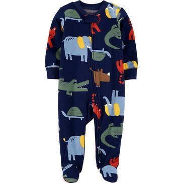 Baby Boy Multi Animal Sleep N Play