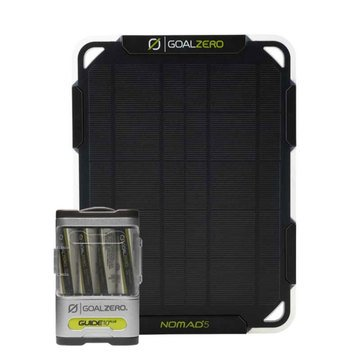 Goal Zero Guide 10 Plus Kit with Nomad 5 Solar Panel