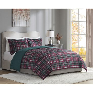 Harbor Home Holiday Plaid Down Alternative Comforter