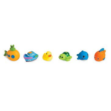 Mudpie Ocean Friends Bath Squirities - 6 Piece