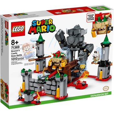 LEGO Super Mario Bowser's Castle Boss Battle Expansion Set (71369 )