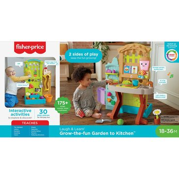 Fisher-Price Laugh & Learn Pick N Prep Garden