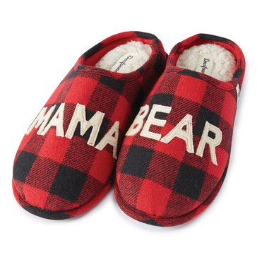 Dearfoams Mama Bear Family Slippers