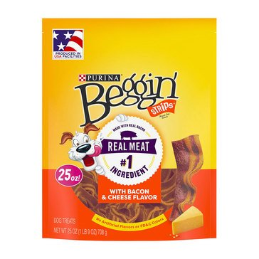 Beggin' Strips Bacon & Cheese Dog Treats
