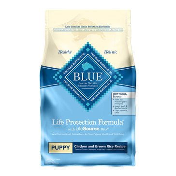 Blue Buffalo Life Protection Chicken & Brown Rice Puppy Food