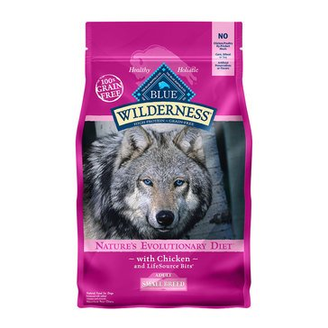 Blue Buffalo Wilderness Grain Free Small Breed Adult Dog Food