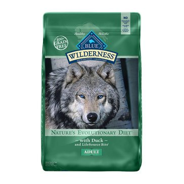 Blue Buffalo Wilderness Duck Grain Free Adult Dog Food